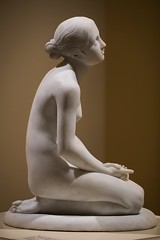 No Where Else To Turn (dayman1776) Tags: sculpture sculptor escultura statue marble nude female figurative art museum woman girl breasts beautiful sony a6000 gibbes south carolina charleston italian sculptures