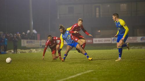 Hemel Hempstead Town FC vs Solihull Moors FC; Buildbase FA Trophy 3rd Round