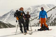 smoke break (перекур) (Mikalin Aleksey) Tags: sonyilce6000 mountains people ski skier nature landscape yamal mikalin горы скитур зима свет полярный урал ямал