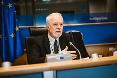 Jan Olbrycht z grupą ze Śląska w PE