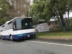 Aussie Bendy? (CR1 Ford LTD) Tags: bus buses buspic bendibus bendybus australianbuses newzealandbuses aucklandbuses northshore auckland busdriver articulatedbus articbus oldbus