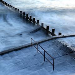 Water (PeskyMesky) Tags: aberdeen aberdeenbeach longexposure water sea ocean groyne landscape beach canon canon6d eos