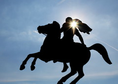 Alexander The Great (Anna-Nemesis) Tags: greece thessaloniki hellas alexander ancient monument horse statue sun