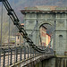 Autunno al ponte delle catene - Bagni di Lucca (LU)