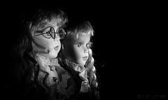 Porcelain Dolls (Allan Jones Photographer) Tags: porcelaindolls dolls artistic creativelighting lightandshadow allanjonesphotographer mono blackandwhite canon5div