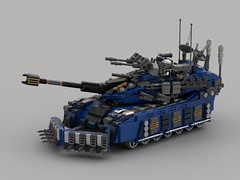 o7 Commando Battle Tank (New-Tusk) (demitriusgaouette9991) Tags: lego ldd military army armored powerful deadly destroyer tank turret lasergun tusk vehicle whitebackground future