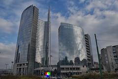 Piazzale Aulenti - Milano (Gianni Armano) Tags: piazzale aulenti milano porta garibaldi foto 21122018 gianni armano photo flickr