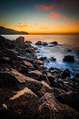 Pacific Coast Highway (JohnLazo19) Tags: 1635mm canon5dmarkiv coast longexposure morning pch pacificcoasthighway rocks sunrise water