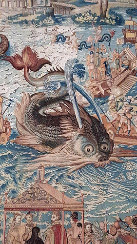 detail of Whale 02 - Valois Tapestries