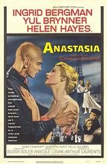 """Anastasia"" (Static Phil) Tags: anatolelitvak movieposter 1956 ingridbergman yulbrynner helenhayes"