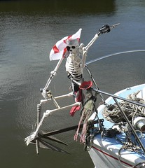 20180614 Skeleton Figurehead (rona.h) Tags: ronah 2018 june rivertrent trent newark skeleton patience