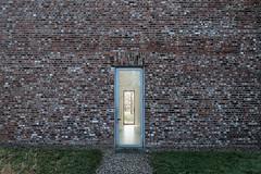 59020149 (felipe bosolito) Tags: door glass perspective symmetry brick tree lookthrough path green sun fuji xt20 xf14f28 classicchrome