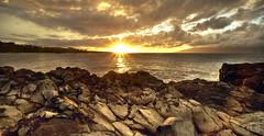 Makaluapuna Point, Sunset, Maui, Hawaii 9422 ((8_8)) Tags: maui hawaii makaluapunapoint dragonsteeth sunset seacoast coastline horizon sonyvariotessartfe1635mmf4za pacific pacificocean