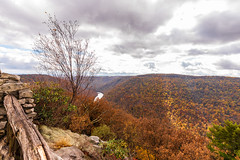 MCZ_2244 (markczerner) Tags: landscape outdoors fall colors fallcolors autumn orange red trees nature river coopers rock coopersrock statepark park west virginia wv wva countryroads country roads cheatriver valley mountains forest