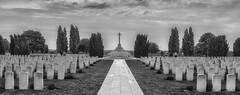 Tyne Cot Cemetery (Eric@focus) Tags: 19141918 greatwar flanders cemetery cwgc noiretblanc