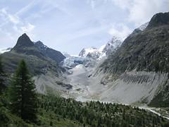 Mont Miné Glacier (Itzlä ° ~~~✈) Tags: wallis switzerland montains alps itzlä 2017 landscape canona2200 sky clouds ferpècle