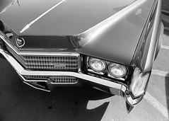 1970 Eldorado (Generator Photography) Tags: film filmisnotdead ishootfilm kodak tmax 400 35mm blackandwhite nikon f100 28105mm f3545 afd scan plustek 8100 carshow classiccar cadillac ctty las vegas town square1970 eldorado