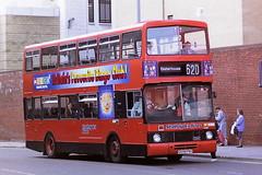 STRATHCLYDE'S BUSES AH70 G698PNS (bobbyblack51) Tags: strathclydes buses ah70 g698pns volvo citybus b10m50 alexander rv glasgow 1995