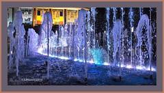 Water lights (T.S.Photo (Teodor Sirbu)) Tags: night lowlight water fountain olympus epl1