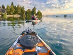 Kayaking On The Flathead River (SoCal Mark) Tags: kayak flathead river montana big fork bigfork mt sky fish fishing glass glassy water fall 2018