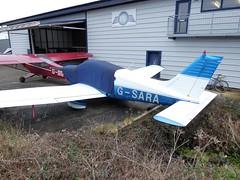 PA-28 G-SARA Shoreham (oldpeckhamboy1) Tags: shoreham