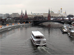 Winter in Moscow... (lyudmila fomina) Tags: mygearandme autofocus canon christmas winter river winterinmoscow bridge city water building sky