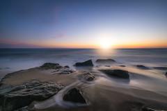 Morning Glow (Mike Ver Sprill - Milky Way Mike) Tags: sandy hook new jersey nj sunrise seascape landscape sand beach rocks long exposure blending rocky travel outdoors beautiful mike ver sprill michael versprill atlantic highlands