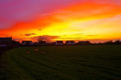 Gnosall sunset (Ugborough Exile) Tags: gnosall stafford staffordshire midlands england uk sony a7iii 2019 flickr