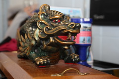 Northern Winter Challenge Trophy (Dark Dwarf) Tags: dragon boat dragonboat race racing northern winter challenge 2019 amathus liverpool trophy