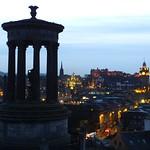 Edinburgh Skyline on a Winter Night 03 thumbnail