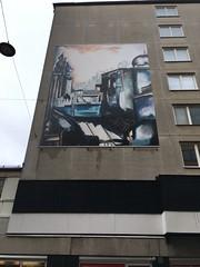 Andra Långgatan (rotabaga) Tags: sverige sweden göteborg gothenburg graffiti gatukonst svartvitt iphone