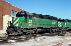BN SD45 6440 (chuckzeiler50) Tags: bn sd45 6440 railroad emd locomotive clyde train chuckzeiler chz