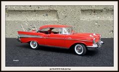 1957 Chevrolet Bel Air Hardtop Sport Coupe (JCarnutz) Tags: 124scale diecast danburymint 1957 chevrolet bel air
