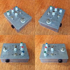 Oscillating fuzz with choke (Leadtowill) Tags: overdrive stompbox stomp noise feedback oscillating effect pedal distortion fuzz