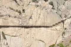 Spain-16 (pa0mjm) Tags: nikond7000 caminitodelrey stairs rock yellow spain