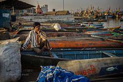 VANAKBARA : PENSEUR (pierre.arnoldi) Tags: gujarat inde diu vanakbara pierrearnoldi photocouleur photodevoyage photographequébécois photographeroninstagram photographeronflickr penseur canon6d on1photoraw2018