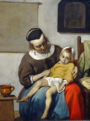 The sick child / Gabriël Metsu (Beyond the grave) Tags: art thesickchild metsugabriël gabriëlmetsu rijksmuseum amsterdam netherlands holland painting