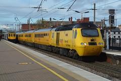 """Network Rail Class 43, 43062 """"John Armitt"""" (37190 """"Dalzell"""") Tags: nr networkrail yellow doctoryellow testtrain brelcrewe hst highspeedtrain intercity125 class43 43062 johnarmitt northwestern wigan"""