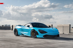 ANRKY Wheels - McLaren 720S - AN20 SeriesTWO (anrkywheels) Tags: anrky anrkywheels an20 seriestwo mclaren 720s pirelli mclaren720s supercar exotic fitment stance novitec exoticcar fistral blue miami wheels rims concave fored forged building concrete