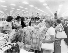 Kmart Opening At Metairie Press Photo 1978 (Phillip Pessar) Tags: kmart opening press photo metairie 1978