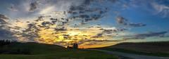 Sunset in Rural Pennsylvania (sumilex77) Tags: sky laurelhighlands fayette rural farm panorama farmland commonwealthpa pennsylvania sunset