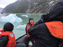Brandye on location! (ExpeditionTrips) Tags: brandye lindblad cruise alaska national geographic sea bird southeast inside passage tracy arm fjord expeditiontrips adventure travel
