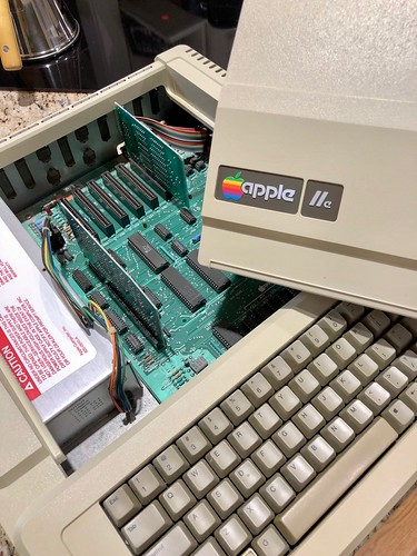 Apple IIe 1984