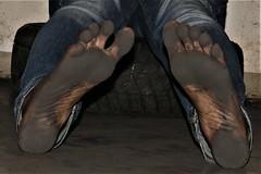 dirty feet - indoor 733 (dirtyfeet6811) Tags: feet soles barefoot dirtyfeet dirtysoles blacksoles