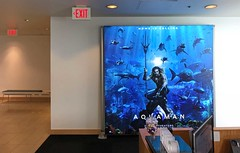 Entertainment, Aquaman, Backlit Graphics using T3 System