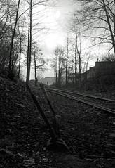 IMGP0490_DxO (heraldofstagnation) Tags: pentax k3ii sigma hsm art 1835mm f18 dxophotolab filmpack dxo railway abandoned switch