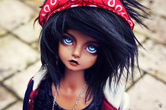 Blue blue eyes (Chantepierre) Tags: bjd balljointeddoll balljointed doll luts kid delf kdf bory boy tan tanskin skin fc fullcusto full custo custom chantepierre ladicius