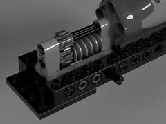 DB BR V60 dark red SIMON JAKOBI DRIVETRAIN 001 (Dr Snotson) Tags: lego train db v60 drivetrain