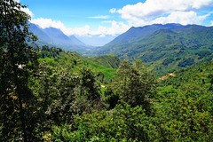 Surroundings of Sa Pa, mountains and valleys, Vietnam
