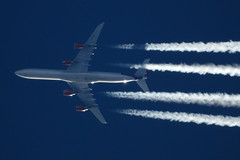G-VYOU (zhirenchen) Tags: jet plane airplane aircraft airline airliner flight flightradar24 fr24 nikon coolpix p1000 megazoom telephoto telescope cruise altitude contrail stream cloud trail vapor tail track steam chemtrail a346 a340600 340600 340 346